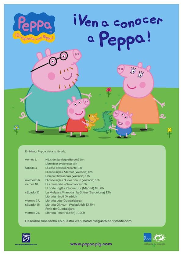Ven a conocer a Peppa Pig en persona
