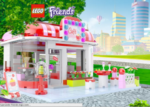Lego Friends Café