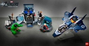 Lego superheroes marvel
