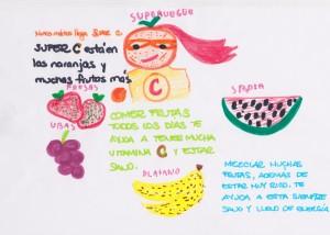 Cuentacuentos sobre la fruta y sus propiedades