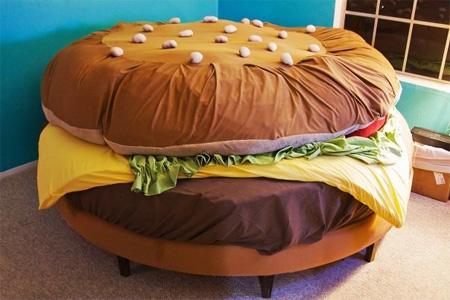 Camas infantiles originales decoraci n for Cama hamburguesa