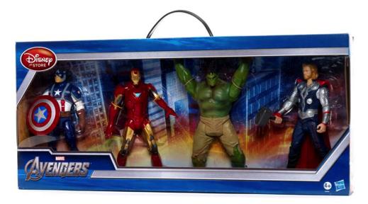 4 figuras de Los Vengadores de Marvel