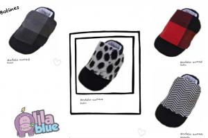 zapatitos estilo botines para bebés