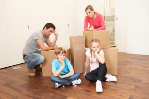 mudarse con niños