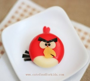 Mini Babybel Angry Bird