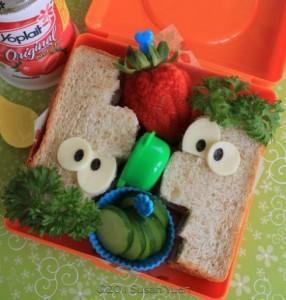 Divertido Sandwich de Phineas y Ferb
