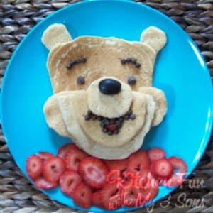 Tortitas de Winnie The Pooh