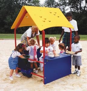 parque con niños