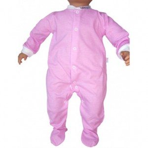 pijama Babyglow color rosa
