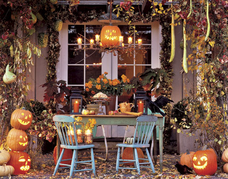 Decoraci n halloween - Decorer sa maison pour halloween ...