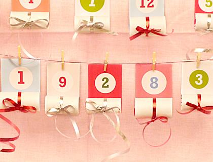 calendario de adviento para hacer con niños