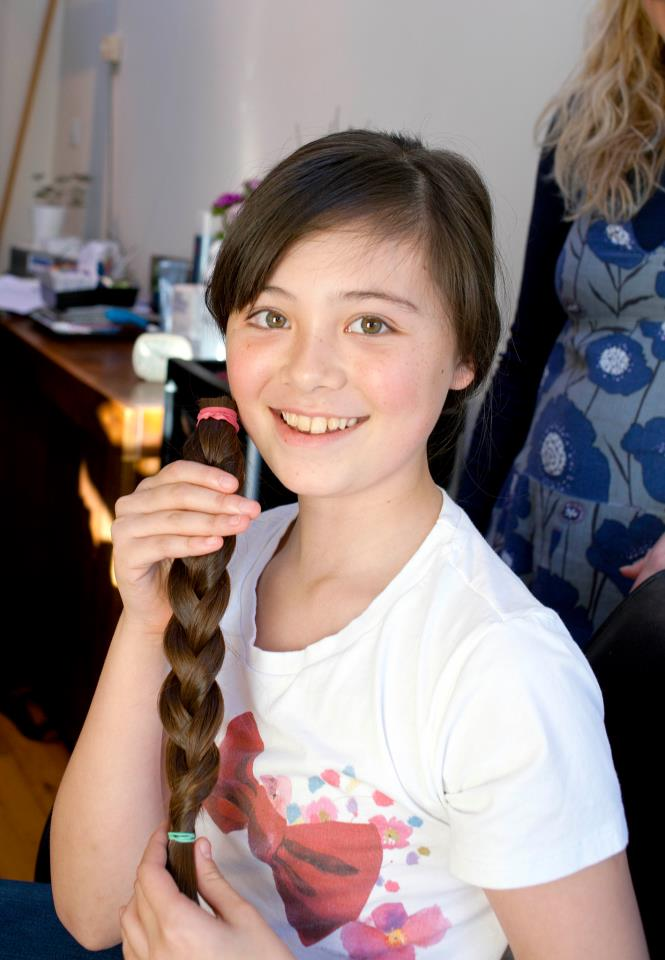 Donación de pelo para niños con cáncer