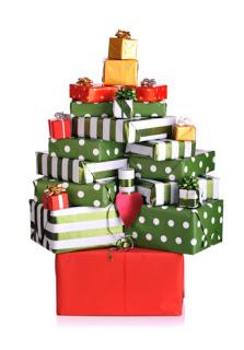 Originales rboles de navidad - Arbol de navidad con regalos ...