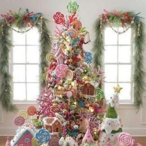 arbol de navidad chuches