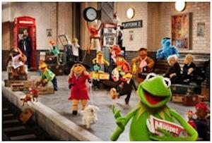 Muppets again película de Disney