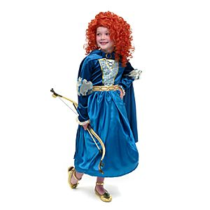 disfraz princesa mérida de brave