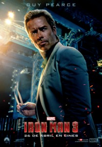 "GUY PEARCE como  ""ALDRICH KILLIAN"" Iron Man 3"