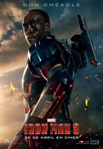 "Iron Man3 de DON CHEADLE como James Rodhes ""RHODEY"""