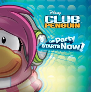 LA FIESTA EMPIEZA YA CD Musical de Club Penguin