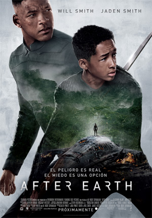 After Earth Will Smith e hijo Jaden Smith