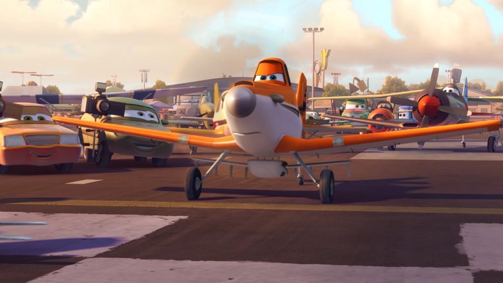 aviones disney DUSTY