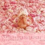 Calendarios de abril 2013 de Anne Geddes