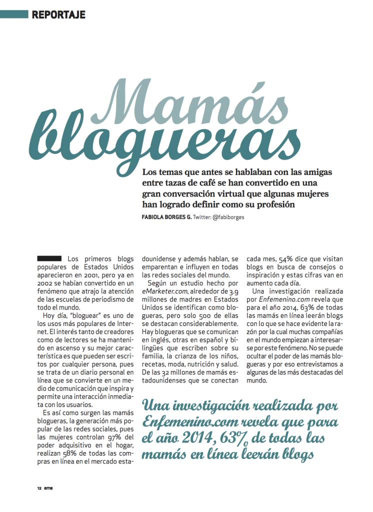 Mamás Blogueras 1