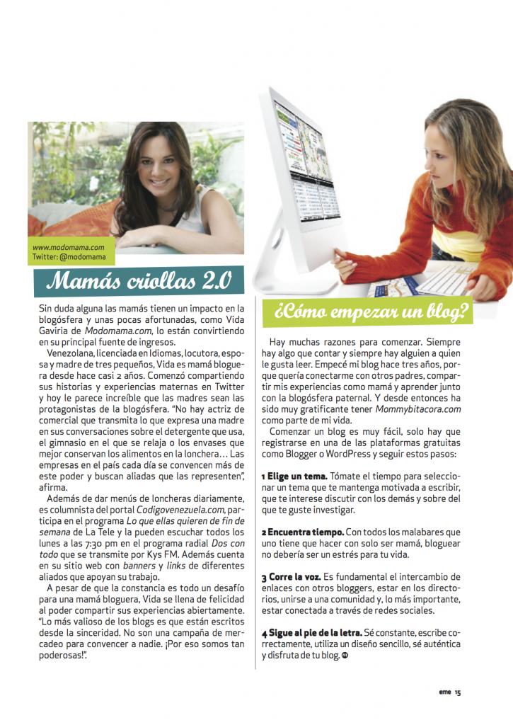 Mamás Blogueras 4