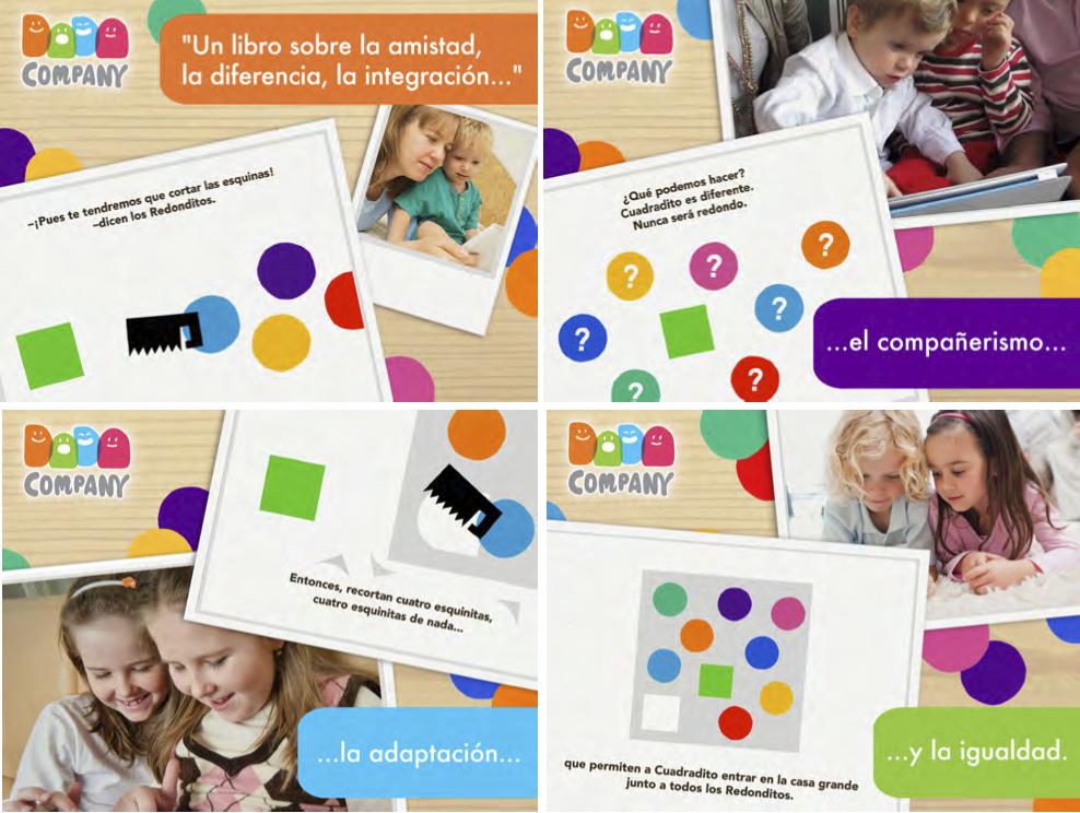 aplicación niños para iOS y Android