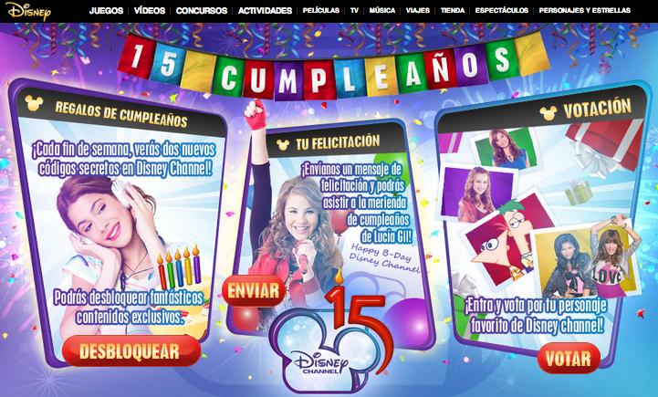 15 cumpleaños disney