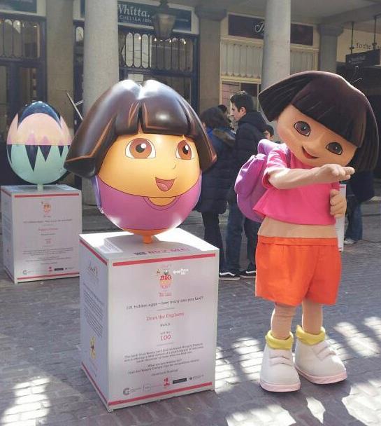 Huevo de Pascua de Dora La Exploradora