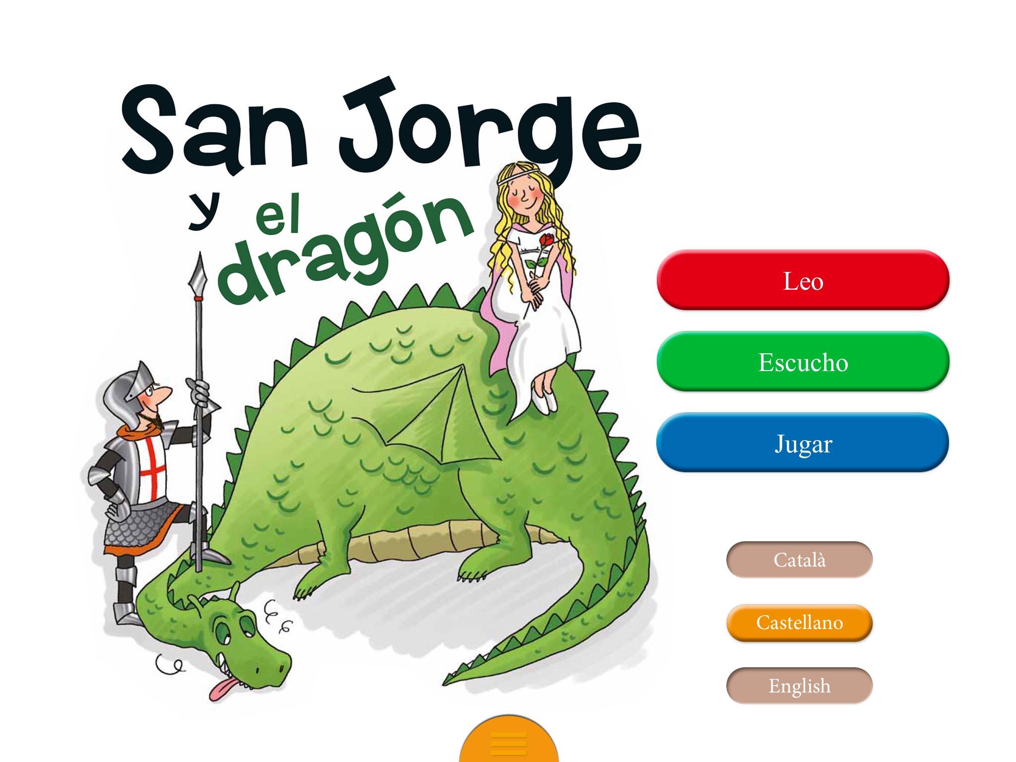 san jorge y el dragón app niños de imaginarium