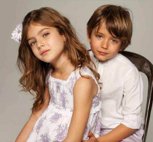 niños vestidos para comunion