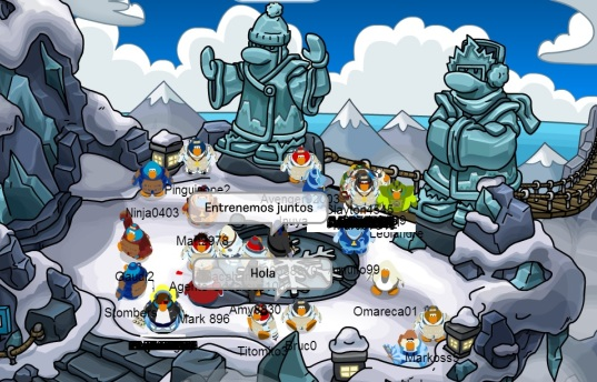 Card-Jitsu Nieve Club Penguin