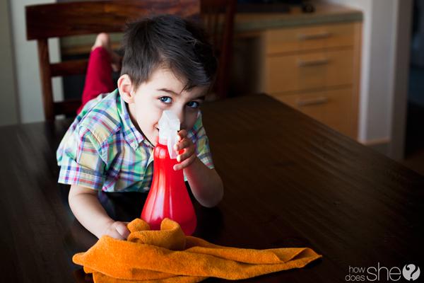 Tareas de casa para niños