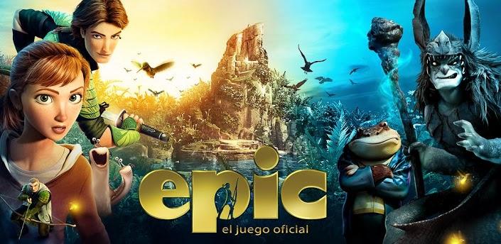 el juego oficial de EPIC: El Mundo Secreto