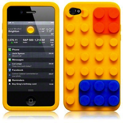 forro iphone 4 lego