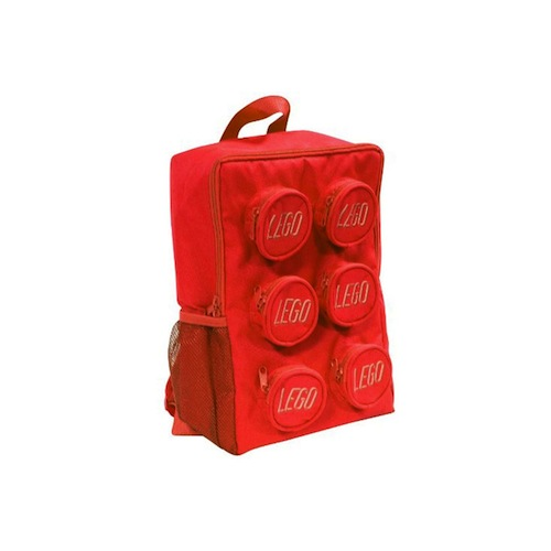 cosas de legos mochila lego roja