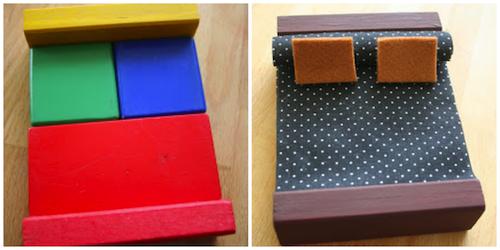 construir juguetes con bloques de madera