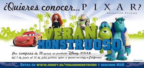 verano monstruoso disney pixar