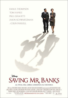 Saving Mr. Banks primera película que recrea a Walt Disney