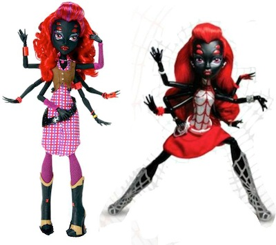 Wydowna Spider monster high araña