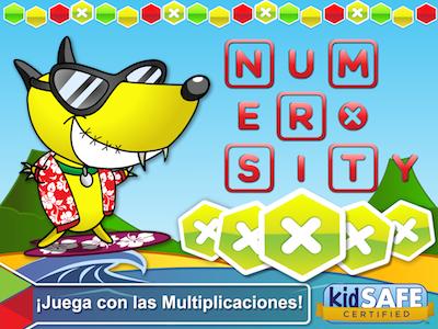 app niños Numerosity Juega con las Multiplicaciones