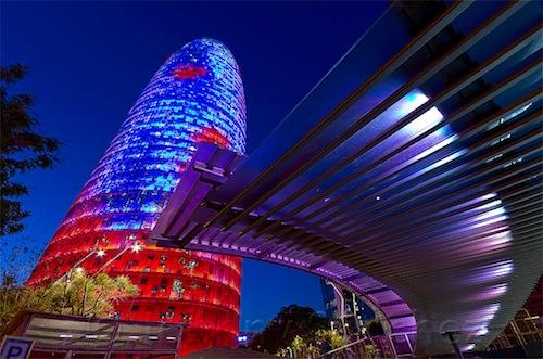 azul barcelona