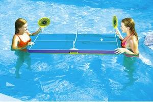 juegos para la piscina ping pong