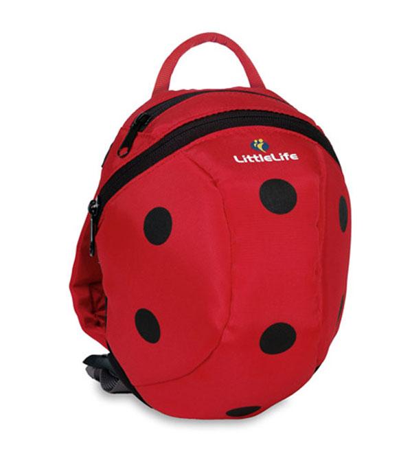 mochilas para niños modelo mariquita