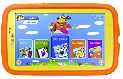 tablet para niños Samsung GALAXY Tab 3 Kids