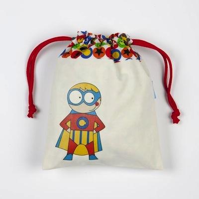 bolsa merienda superheroe