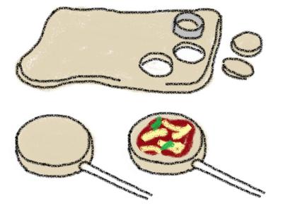 cómo hacer pizza pops