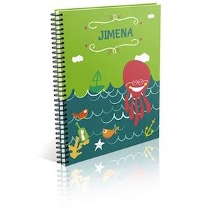 cuaderno infantil personalizado